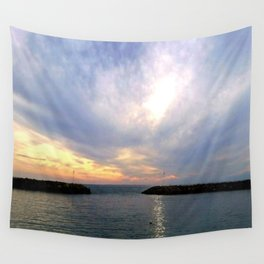 Evening Mood Wall Tapestry