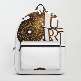 He is Risen Easter Christian Gift Backpack