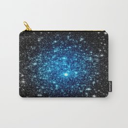 GaLaXY Sparkle Stars :  Blue Pop of Color Carry-All Pouch