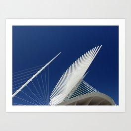 Milwaukee IV Architecture by CALATRAVA architect Art Print