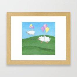 Naptime Framed Art Print