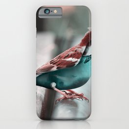 AquaBird - Julien Tabet - Photoshop Artwork iPhone Case
