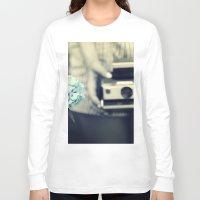 hydrangea Long Sleeve T-shirts featuring hydrangea  by Kearsten Taylor