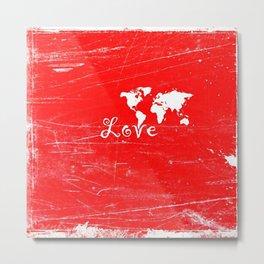 Love Earth Metal Print