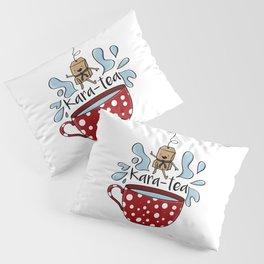Karate Kara Tea Teabag Present Gift Cup Pillow Sham