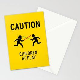 Children at Play Stationery Cards