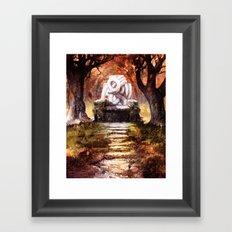 The Autumn Throne Framed Art Print