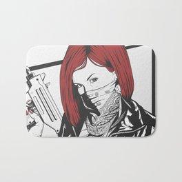 Redheads do it better ;) Bath Mat