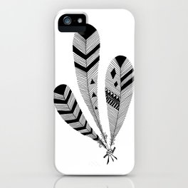 Bound Feathers iPhone Case