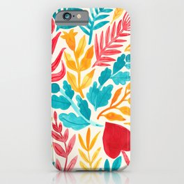 The Brightest Leaves iPhone Case