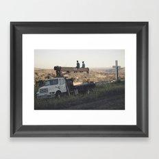 Lost Generation Framed Art Print