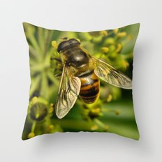 Bee? Throw Pillow