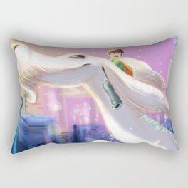 The Luck Dragon Rectangular Pillow