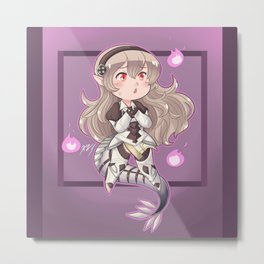 Darkness Within Corrin Metal Print