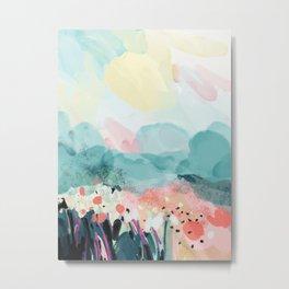 spring landscape Metal Print