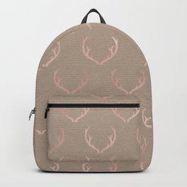 Caramel blush reindeer Backpack