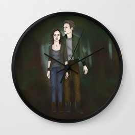FitzSimmons Bellarke AU Wall Clock