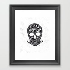Skull Tchekhov Framed Art Print