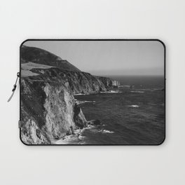 Monochrome Big Sur Laptop Sleeve