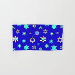 Hanukkah Holidays Celebration of Miracles Pattern Hand & Bath Towel