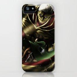 Armored Titan iPhone Case