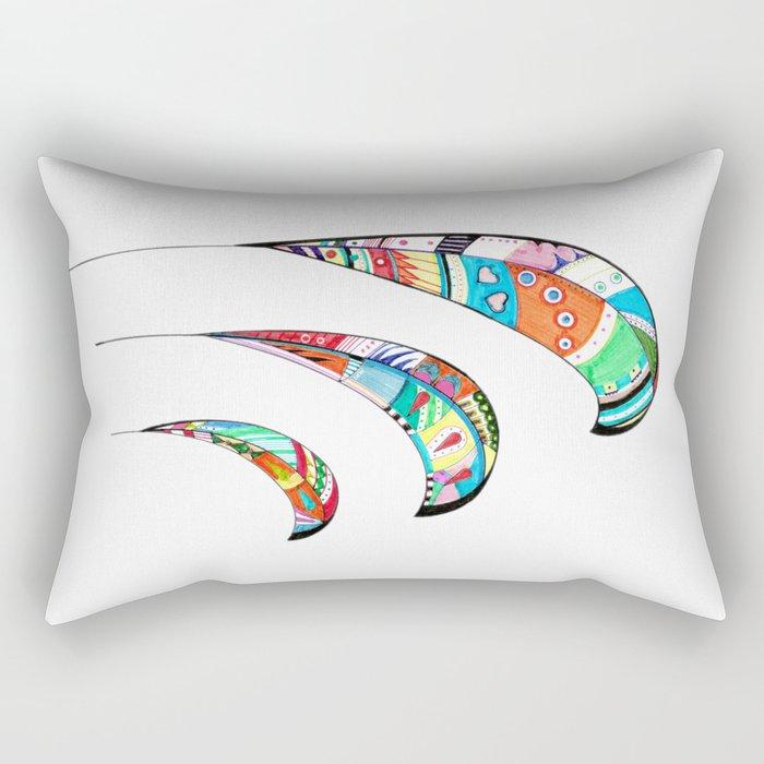 Plumas Rectangular Pillow