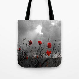 Only poppies... Tote Bag