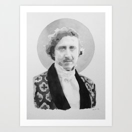 Gene Wilder Watercolor Art Print