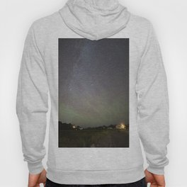 Airglow and the Milkyway at Pebble Beach Hoody