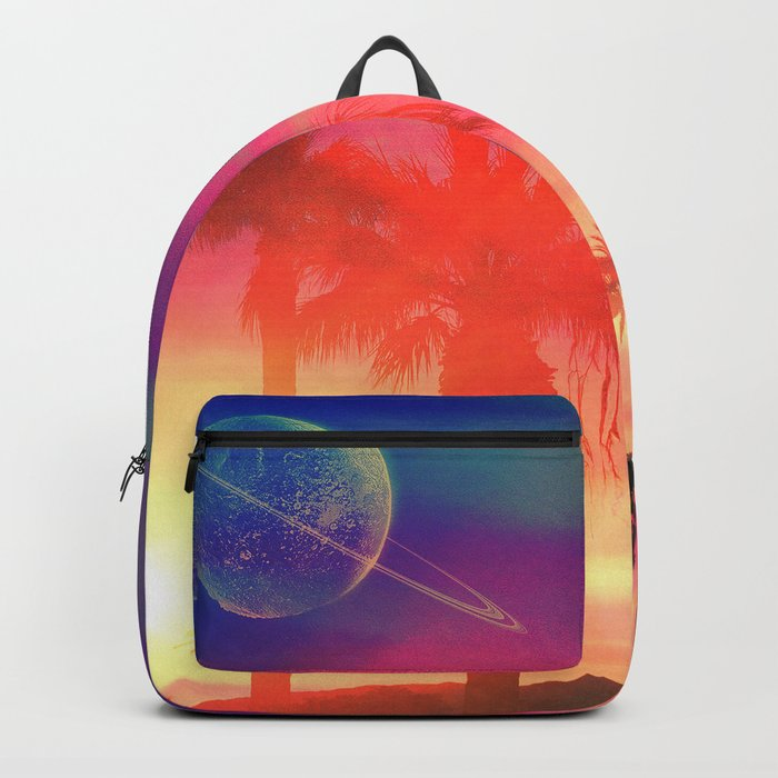 Neon Beach Backpack
