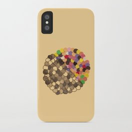 Parallel Pigmentation iPhone Case