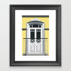 Portuguese Window I Framed Art Print