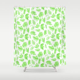 Crystals - Emerald Shower Curtain