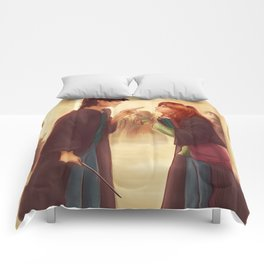 """I'd Just As Soon Kiss The Giant Squid!"" Comforters"