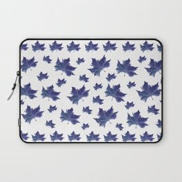 Blue leaves Laptop Sleeve