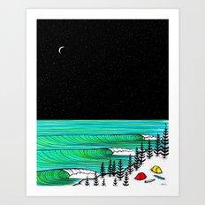 New Swell Art Print