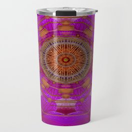 Keep Calm in Orchids and strawberrys Travel Mug