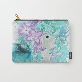Madame Peacock Carry-All Pouch