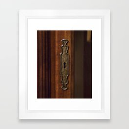 Locked With No Key Framed Art Print