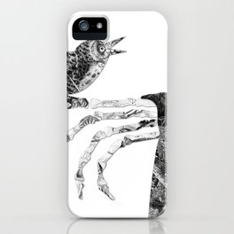 Death and the Nightingale iPhone Case