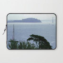 Treasure Island from Alcatraz Laptop Sleeve