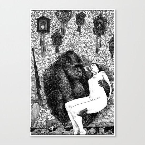 asc 686 - La pitié (Time is out of joint) Canvas Print