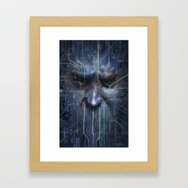 …and I Must Scream Framed Art Print
