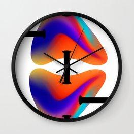 Data Transfer Wall Clock