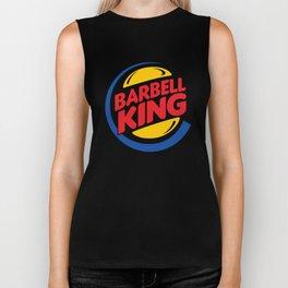 Barbell King Biker Tank