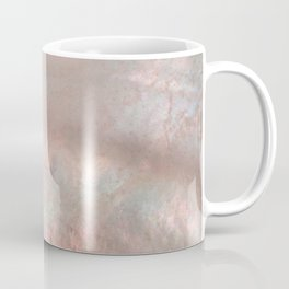 Mother of pearl in rose gold Coffee Mug