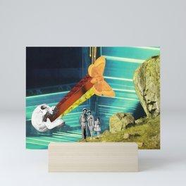 A memorable day out Mini Art Print