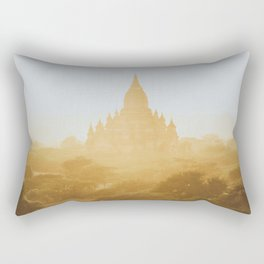 Bagan Temples II Rectangular Pillow