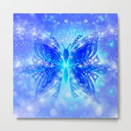 Butterfly Abstract G539 Metal Print