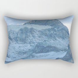 Los Andes    Snow in mountains    Landscape Photography Rectangular Pillow